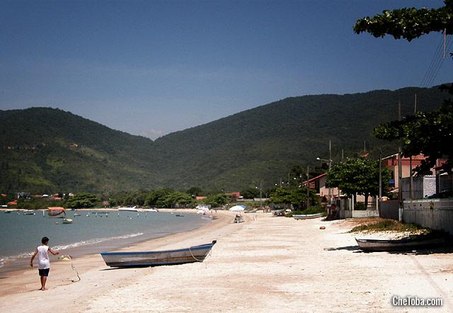 Playa de Aramacao Celso Ramos