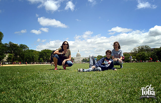 Los Chetoba en el National Mall Washington