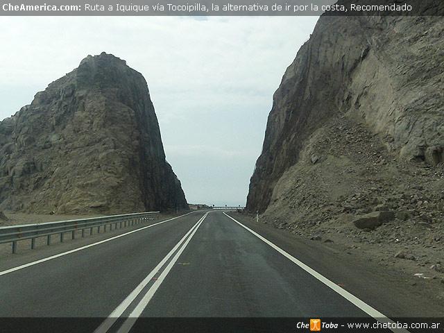 Imagenes de la ruta costera a Iquique