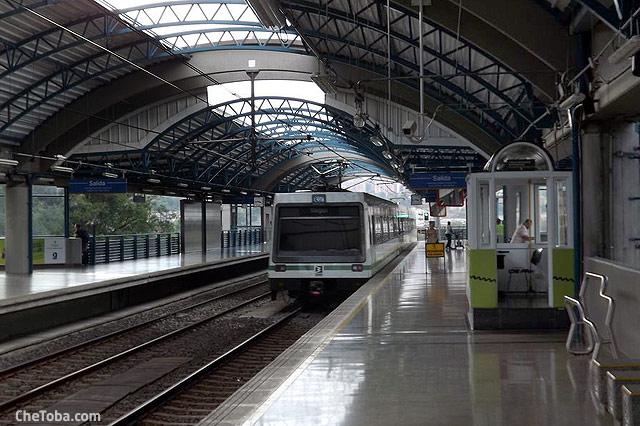 Tren Metro Medellin