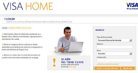 www.visa home.com.ar