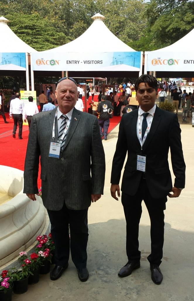 Представители ООО «ЧКЗЧ» приняли участие в одной из самых масштабных азиатских строительных выставок EXCON 2017, прошедшей с 11 по 17 декабря в Бангалоре, Индия.