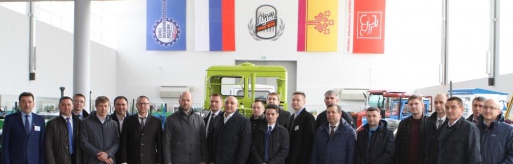 делегация ПАО «Транснефть» на заводе ОАО «Промтрактор»