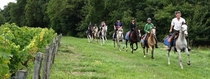 randonnée à cheval en france