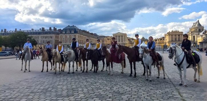 equestrian trek in france