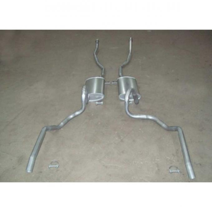 chevelle dual exhaust system small block except station wagon 1968 1969