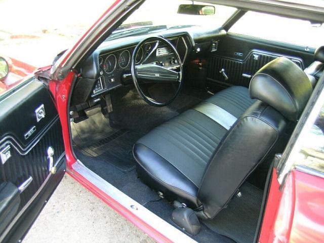 1972 Chevelle Bench Seat Interior Photos