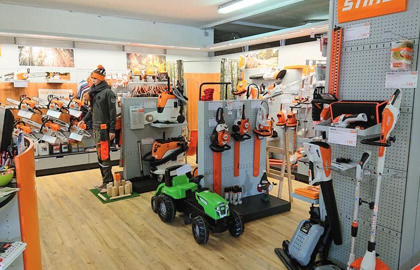 Agence Stihl et réparation toutes marques y compris grande surface et Husqvarna, Chevre Motoculture Shop Stihl, région delémont,jura.
