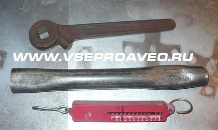 Замена прокладки головки блока цилиндров, специальный инструмент