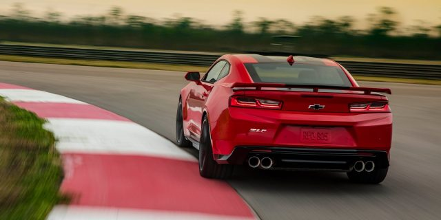 Image result for Chevrolet Camaro ZL1 650 hp back view