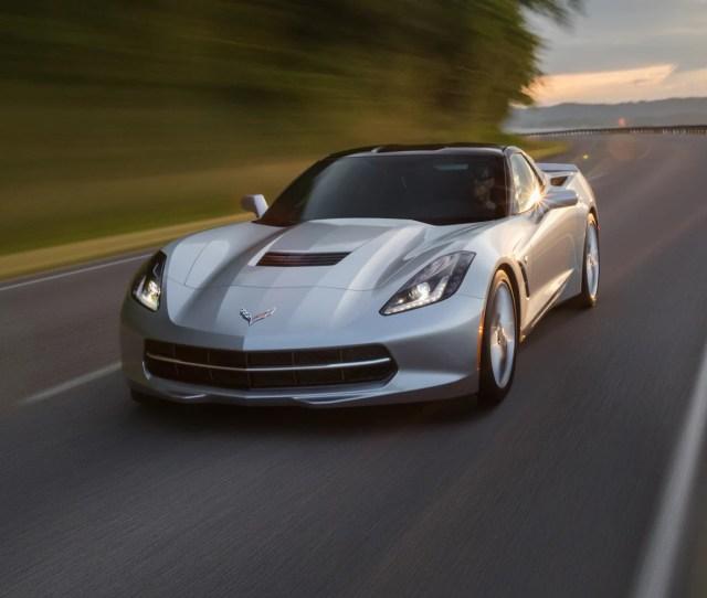 Corvette Stingray Sports Car Design Front