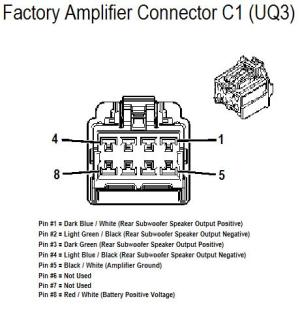 Stock AMP wiring diagram  Chevy HHR Network