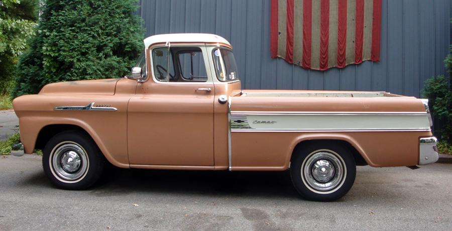 Door Chevy 3 Truck 1957