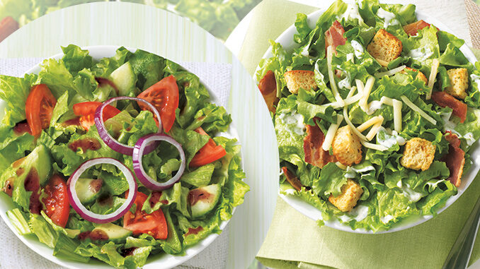Salads - Tim Horton's New Salad Menu