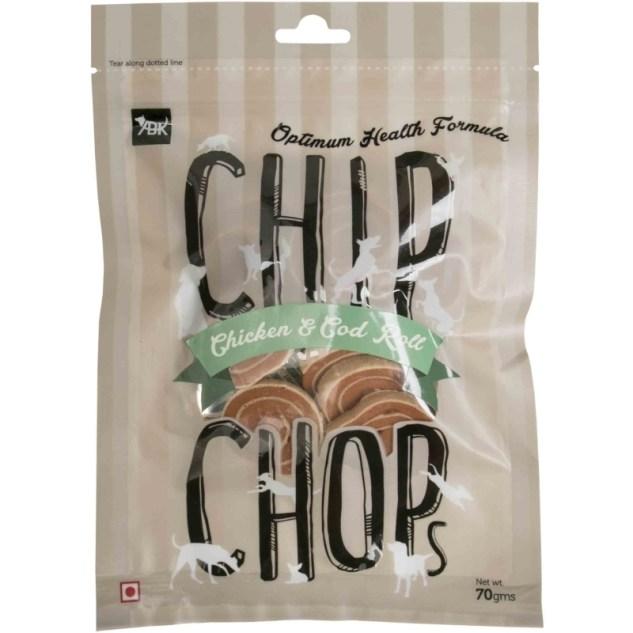 Chip Chop Chicken&Cod Roll