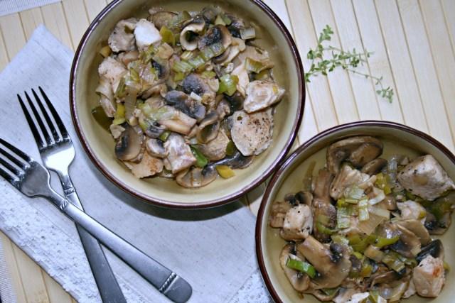 Turkey Leek Mushroom