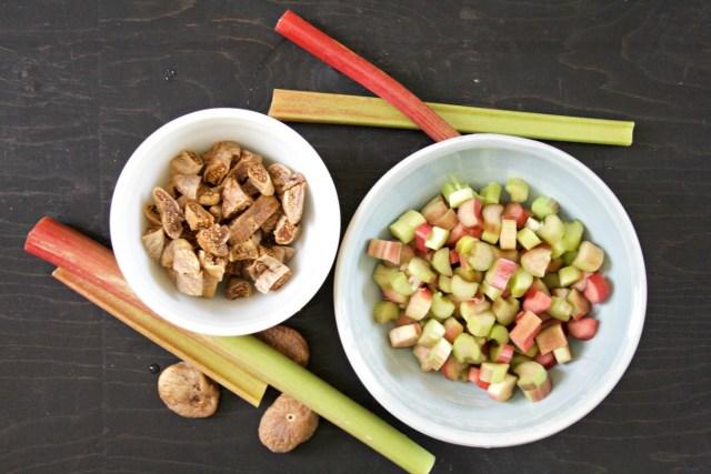 Rhubarb Fig Ginger Marmalade