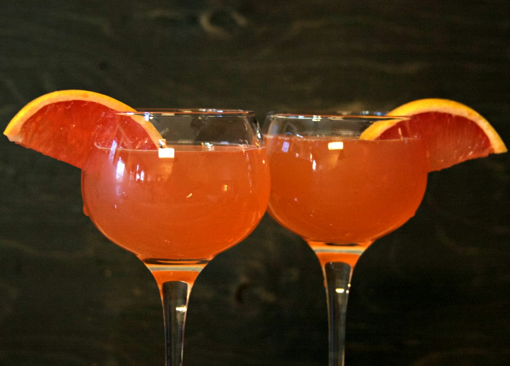 IPA Simple Syrup Grapefruit Cocktail