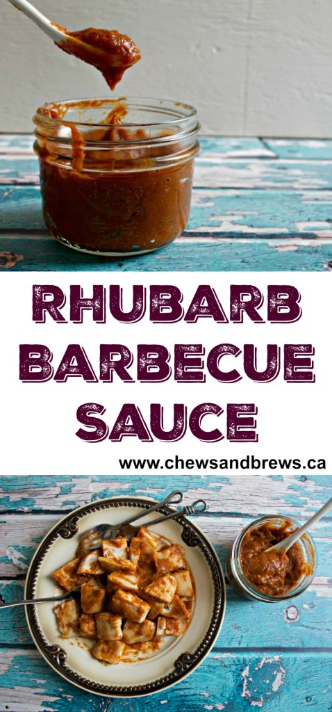 Rhubarb Barbecue Sauce