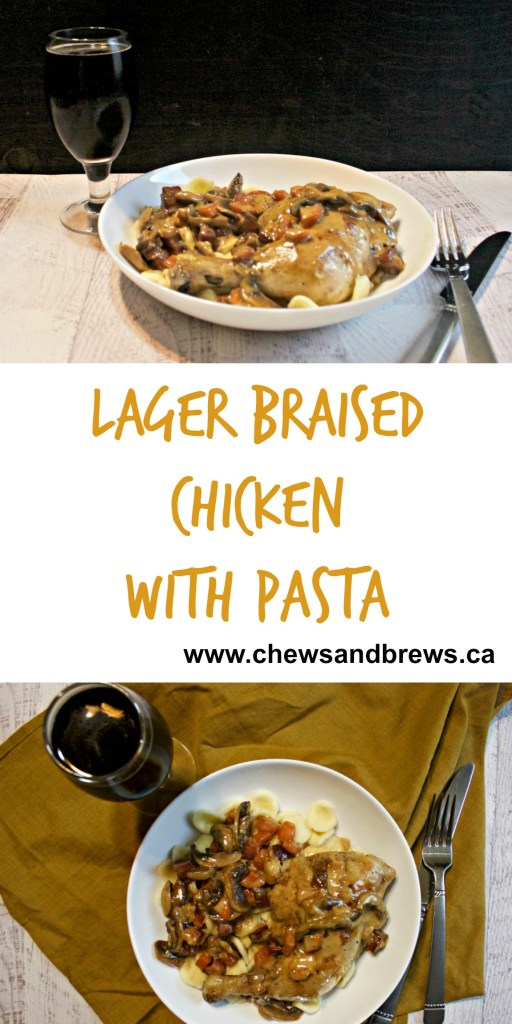 Lager Beer Braised Chicken