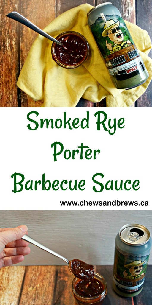 Smoked Rye Porter Barbecue Sauce