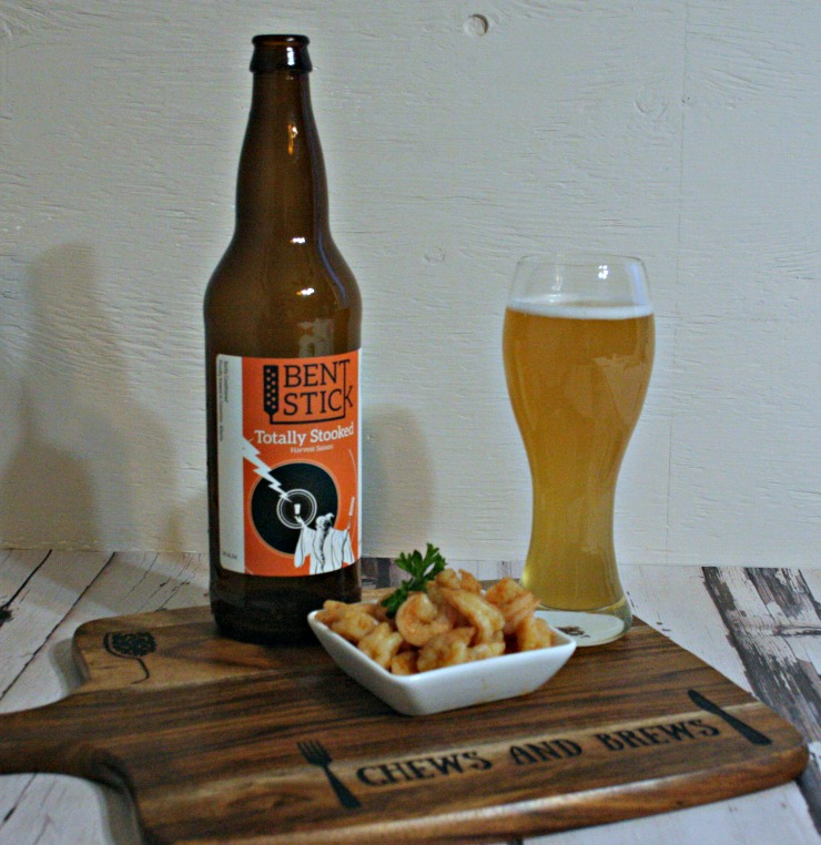 Saison Beer Sauteed Chili Shrimp ~ Chews and Brews