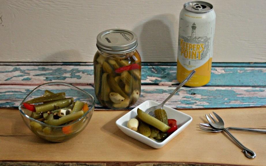 Pale Ale Beer Pickles
