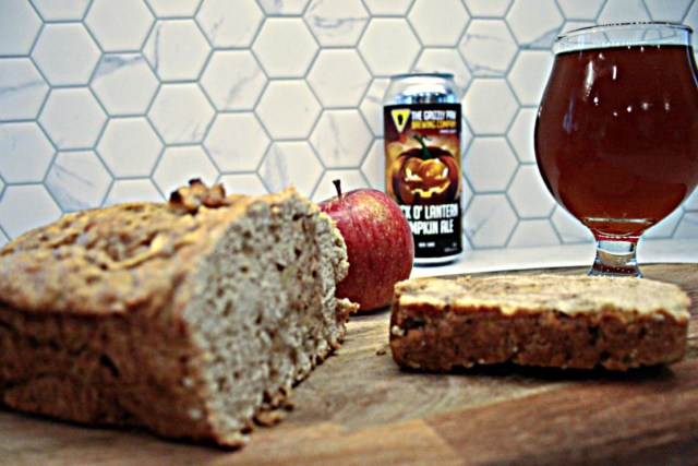 Easy Apple Pumpkin Beer Bread