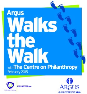 Argus Walks the Walk with The Centre on Philanthropy