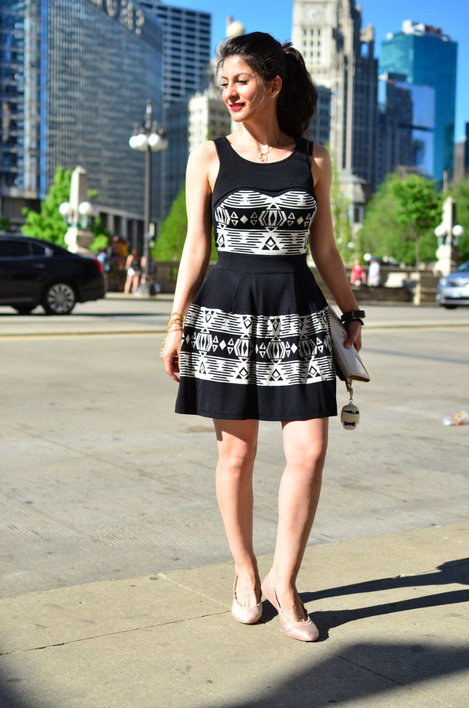 Jacquard dress-Casual Chic -DSW Shoes