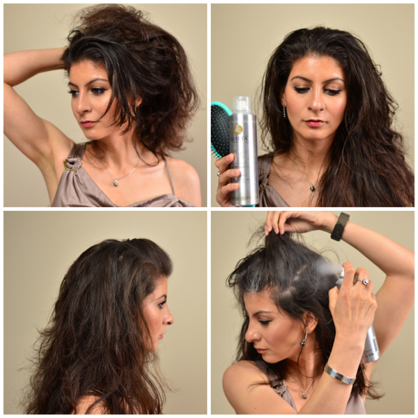 The triple twist updo hairstyle