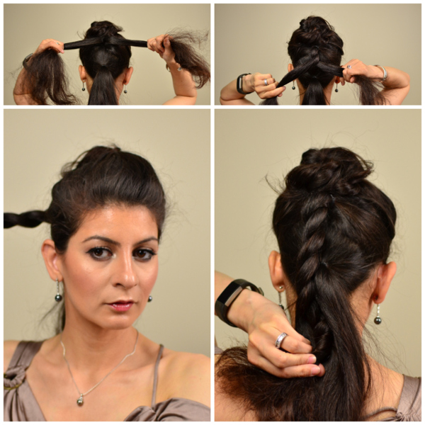 The triple twist updo