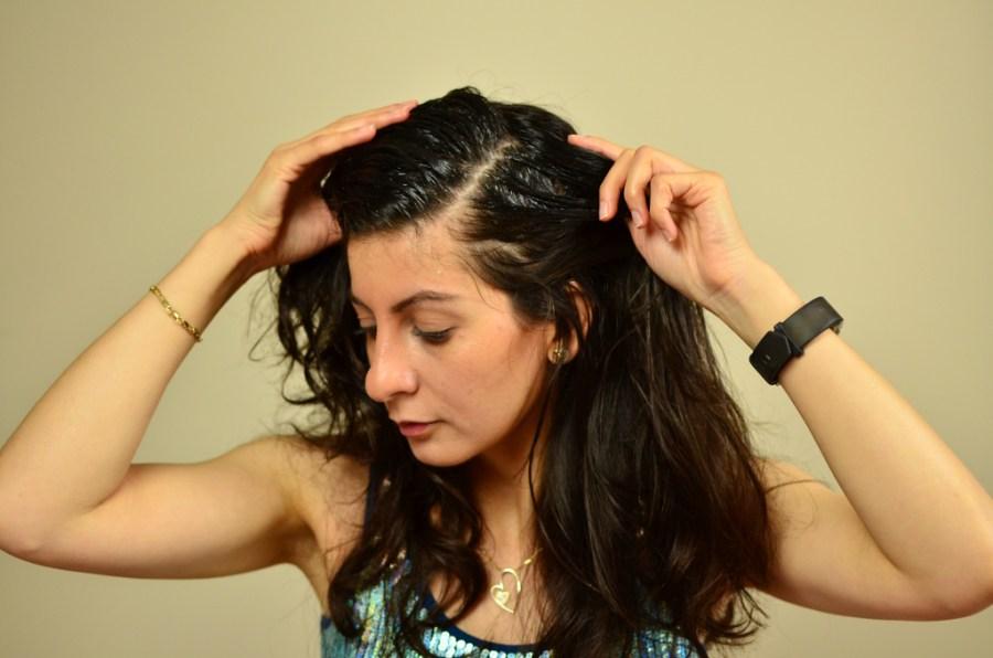 strong beautiful hair-Castor -coconut oil hair mask