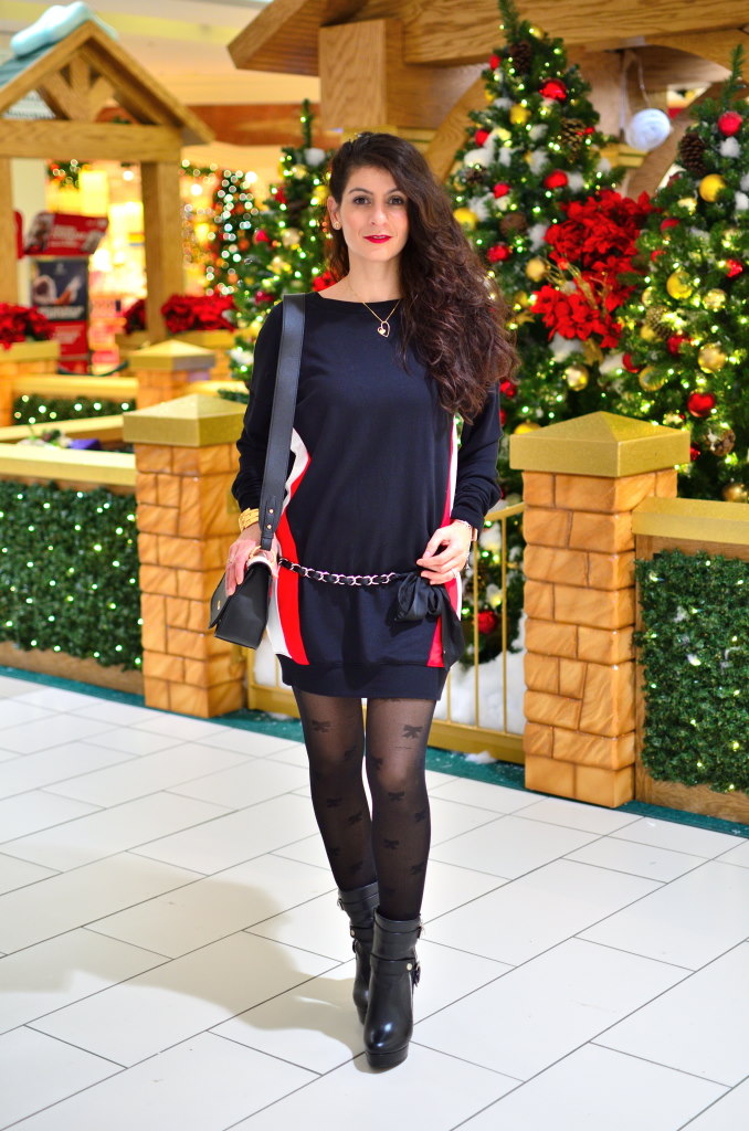 Sweater dress for winter - Tips what to wear with sweater dress in winter