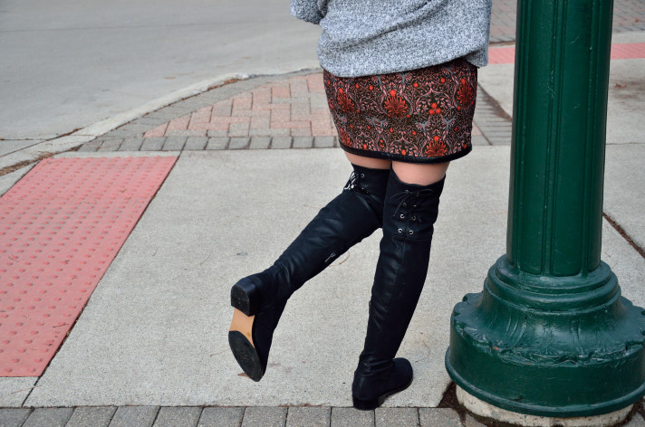 Winter brunch outfits, How I style mini skirt in winter