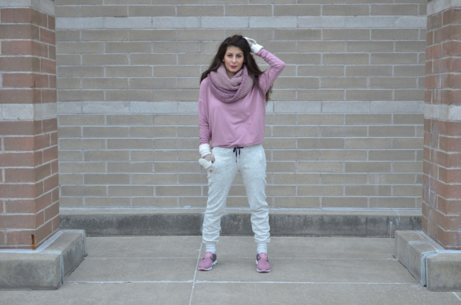 Winter athleisure outfit: what to wear with your sneaker for a casual look