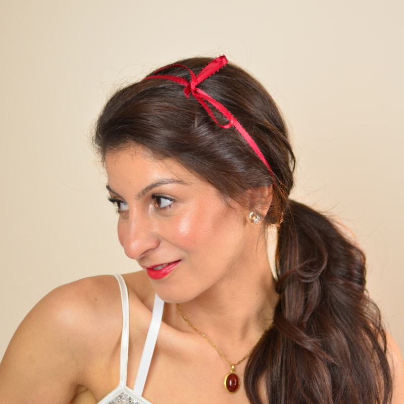 Bow Hairstyle Valentine S Day Hairstyles For Short To Long Hair Chez Rama