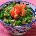Let's make a Tabbouleh! タッブーレを作ろう!