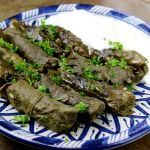 Yaprak Sarmasi, Rice Rolled in Brined Grave Leaves