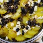 Instagram料理教室  じゃがいもとオリーブと白チーズのオーブン焼き