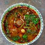 Instagram料理教室 肉団子とひよこ豆のチョルバ Kofteli Nohutulu Corba