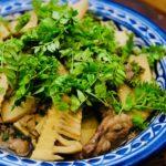 日光深山山椒祭り3:instagram料理教室和牛筍山椒