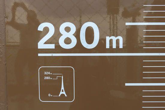 3e étage Tour Eiffel 320 mètres
