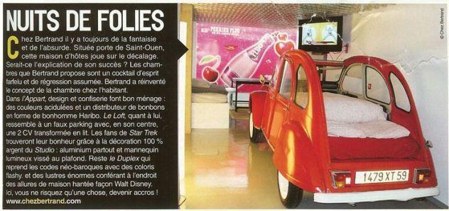 Vivre Paris article