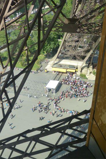 File d'attente Tour Eiffel