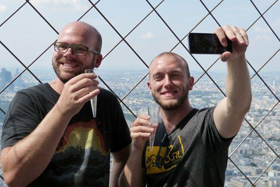 Photographie 3e étage Tour Eiffel