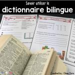 couverture de la ressource sur l'usage du dictionnaire bilingue