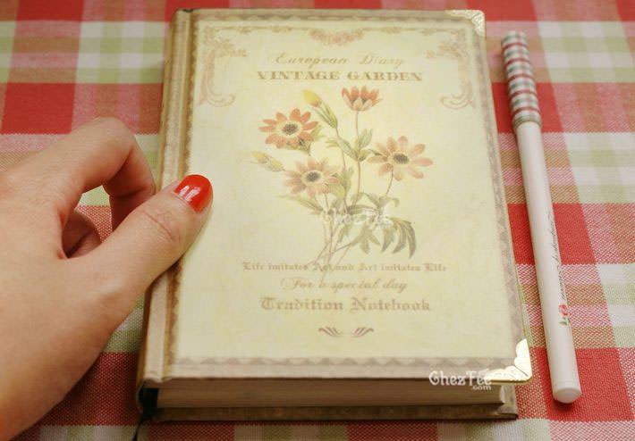 cahier-agenda-fleur-marguerite-intérieur-exterieur-chezfee