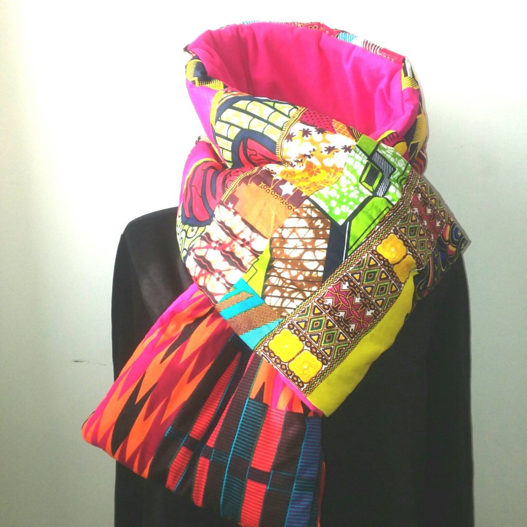 b3c9adcd9d2e https   www.etsy.com listing 638650042 african-wax-print -puffer-scarf ref shop home active 24