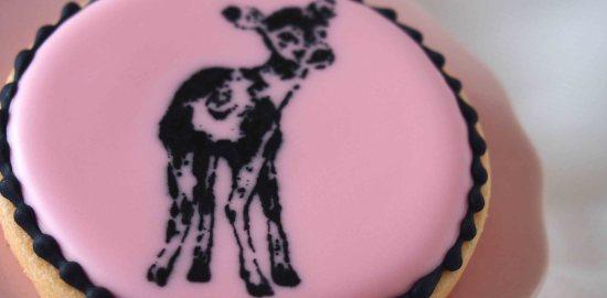 バンビのアイシングクッキー
